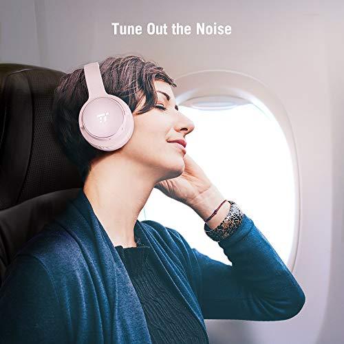 TaoTronics Active Noise Cancelling Kopfhörer 30 Stunden Bluetooth Kopfhörer, Kabelloses ohrumschließendes Headset, dualen 40 mm Treibern Kabellos Kopfhörer mit Tiefem Bass und Mikrofon - 5