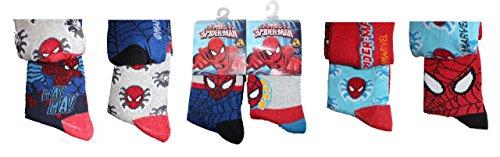 Spiderman -  Calze  - ragazzo multicolore 23/26