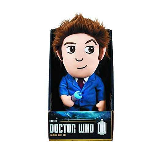 Doctor Who 10th Talking Plush