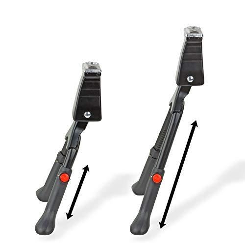 TronicXL Zweibein Fahrrad Halterung Ständer Höhe verstellbar einstellbar Fahrradhalterung Halter Zweibein Fahrräder Zweibeinständer Aufstellständer Radständer Fahrradständer Rad Doppelständer