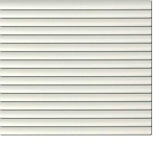 Dekologi Láminas de Aluminio 90x 230cm (Ancho x Altura)-Láminas Color 1910Plata//Medida Aluminio Veneciana-Estor Plisado