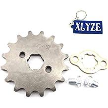 XLYZE 420 16 Dientes 17mm Engranaje del piñón de la rueda delantera del motor para ATV