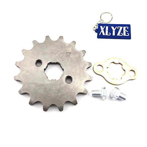 xlyze 42016Z 17mm Getriebe Ritzel der Vorderrad des Motor für ATV 50cc 70cc 90cc 110cc 125cc Pit Dirt Bike XR CRF 50SSR (Motor Cc 70)