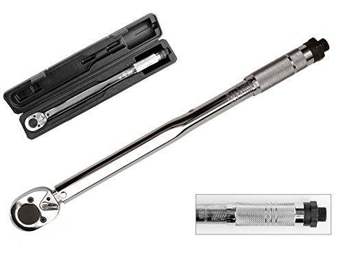 Preisvergleich Produktbild Drehmoment-Schlüssel Standard Drehmoment Ratsche Radmontage 1/2' 28 - 210 NM mit Kunststoffkoffer