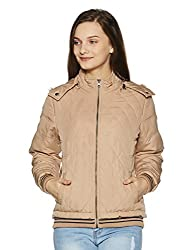 Fort Collins Womens Cape Hoodie (17909 AZ-Camel_M)