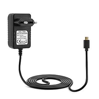 Aukru 5V 3A Netzteil Ladegeräte Micro USB Kabel für Raspberry Pi 3 Model B / Raspberry Pi 2 Model B -3000mA- 150cm