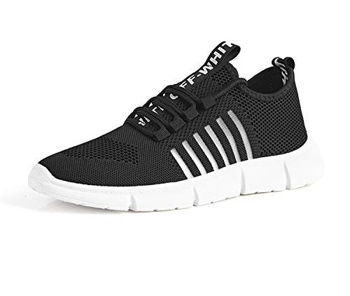 Breathable Shoes Men Sneakers Casual Shoes Krasovki Mocassin Basket Homme Comfortable Light Trainers Chaussures Black 7 -