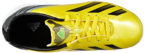 adidas Performance - F10 Trx Ag J, Scarpe da calcio Bambino Giallo (Gelb (VIVID YELLOW S13 / BLACK 1 / RUNNING WHITE FTW)