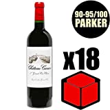 X18 Château Canon 2014 75 cl AOC Saint-Emilion Grand Cru 1er Grand Cru Classé B Rouge Rotwein