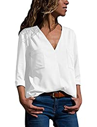 4fc42f389690b Amazon.es  Blusas y camisas - Camisetas