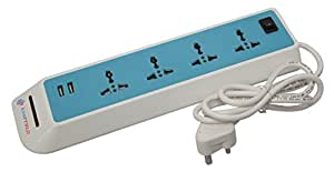Kampfield USB ports Surge Protector with 4 points