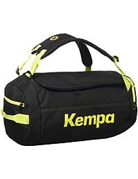 Kempa K-Line Caution Bolsa Deportiva, Negro / Amarillo (Fluor), S