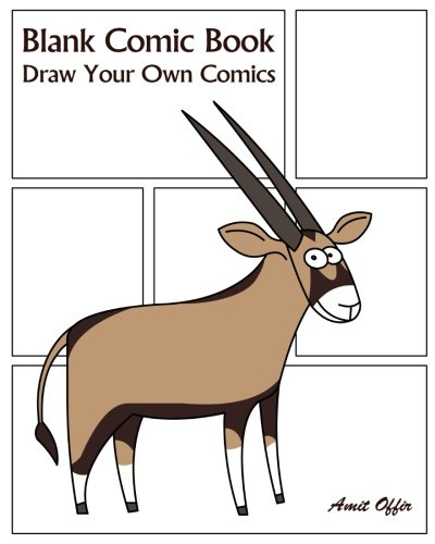 Blank Comic Book: Draw Your Own Comics: Volume 66 (Blank Comic Books) por Amit Offir