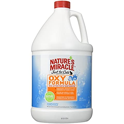 Nature's Miracle Just for Cats Oxy Stain and Odor Remover, Fresh by Nature's Miracle