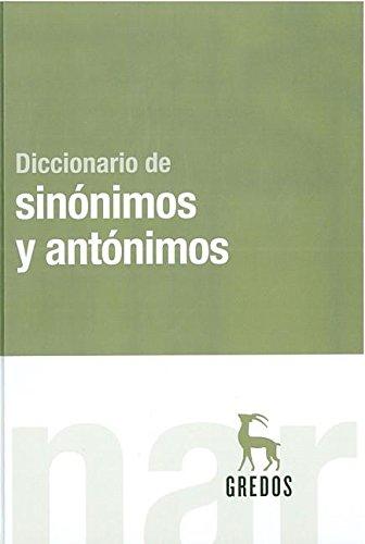 Diccionario de sinónimos y antónimos (DICCIONARIOS)