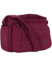 Lug Wings Cross Body Bag, Brushed Red Cross Body Bag