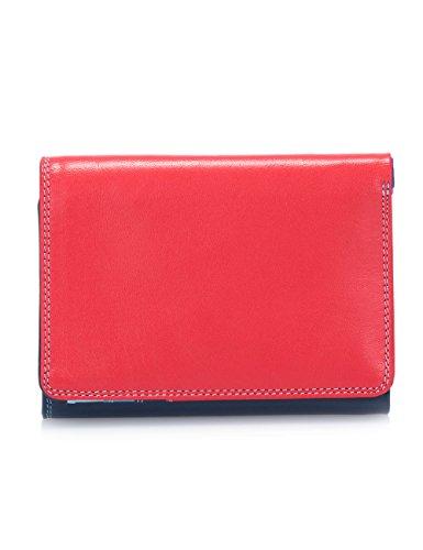 Mywalit - Leder damen Geldbörse - Medium Tri-Fold Wallet - 106-127 Royal -