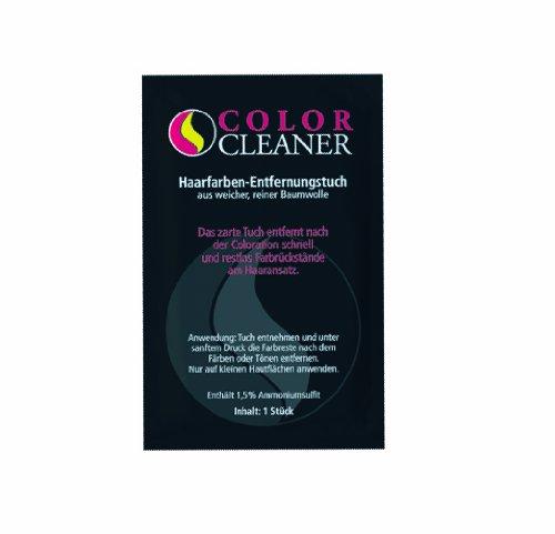 Coolike Color Cleaner Haarfarben-Entfernungstuch aus Baumwolle, Beutel mit 50 Stück