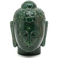 Heilung Kristalle Indien®: natur Edelstein Hand geschnitzt Buddha Kopf Buddha Figur Statue Kostenloser Versand... preisvergleich bei billige-tabletten.eu