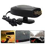 Windshield Car Heater - Portable Car Defroster Defogger 12V Truck Car Heat Cooling Fan 150W 3-Outlet Plug in Cigarette Lighter (12V Vehicle)
