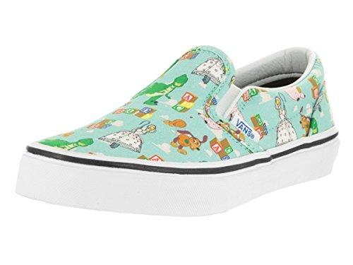 Vans Slip-On, Unisex-Kinder Sneaker, Mehrfarbig (Toy Story- Andy's Toys/Blue Tint),33 EU