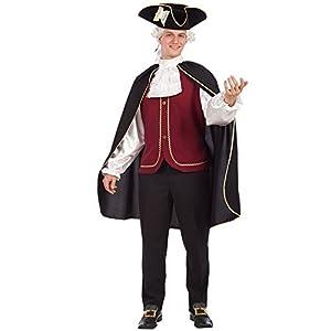 Carnival Toys 80119 - Cavaliere Federico, histórico hombres traje XL