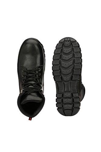 Kavacha Steel Toe Men's Safety Shoe - Black - S19 (10)