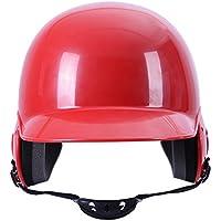 Dilwe Casco de Béisbol de Bateador de Entrenamiento de Competición de Béisbol (Rojo)