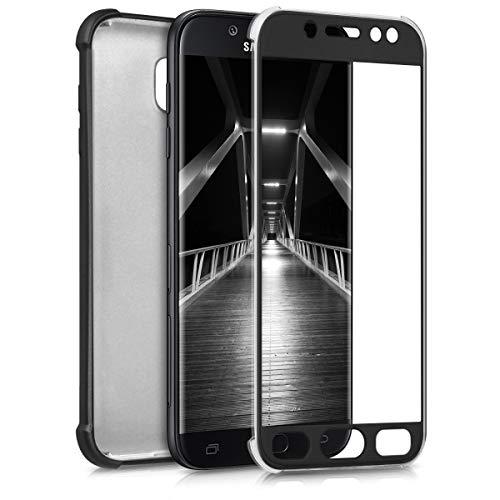 kwmobile Custodia compatibile con Samsung Galaxy J5 (2017) DUOS - Cover protettiva fronte retro TPU silicone - Back Case protezione totale