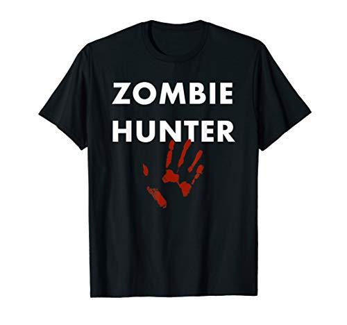 Zombie Hunter Kostüm - Zombie Hunter Halloween Kostüm T-Shirt
