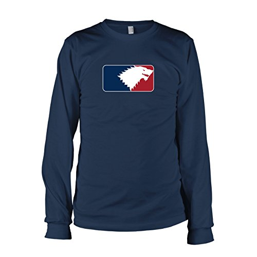 TEXLAB - GoT League - Langarm T-Shirt, Herren, Größe M, - Brandon Stark Kostüm