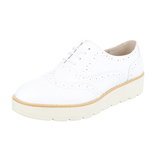 Ital-design - Weiß 62025 Chaussures Basses Pour Femmes