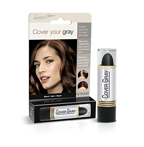 Cover Your Gray Hair Color Stick (6er Pack) Black (Haarfarbe; Highlights) (Schwarz Haarfarbe-stick)