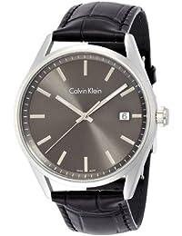 Calvin Klein Herren Armbanduhr Analog Quarz Leder K4M211C3