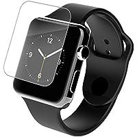 Zagg InvisibleShield HD Pellicola Proteggi Schermo per Apple Watch, 38 mm, Trasparente