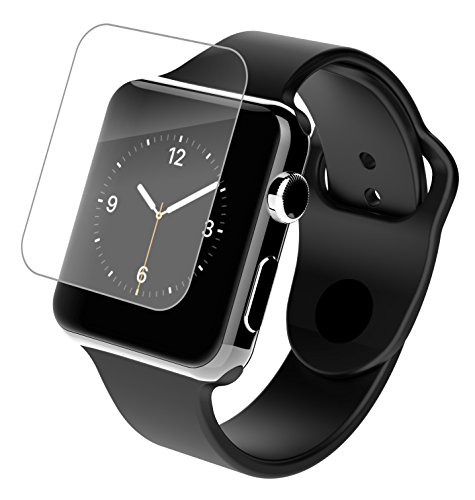 InvisibleShield HD - Protector de pantalla HD Clarity para Apple Watch, 38...