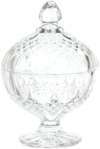 Cristal D'arques Diamax Bonbonniere Longchamp mit Fuß 12cm -