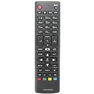 allimity Ersatz-Fernbedienung AKB74915324 für LG TV 43LH604 43LH6047 43LH604V 43UH603 43UH610 49UH6107 49UH6109 49UH620 55LH630 55UH6157 55UH6159 60UH625 60UH6257 60UH650 60UH6507
