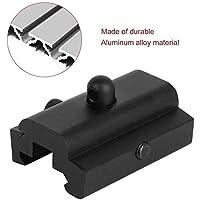 xiaohan Negro 20 mm Aluminio Táctico Caza Sling Giratorio Stud Adaptador Harris Bipod