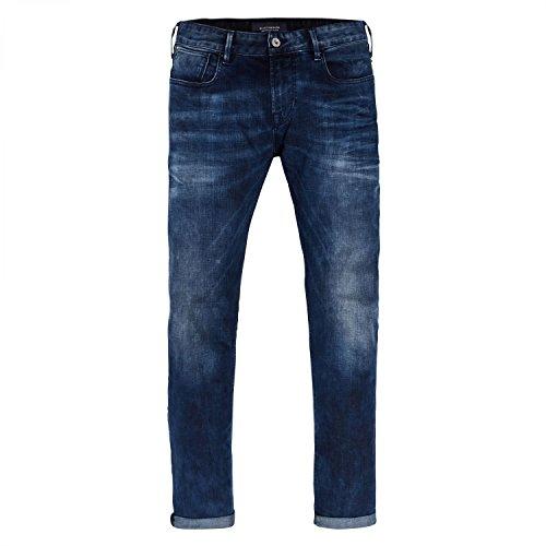 Scotch & Soda Herren Slim Jeans Tye-Blauw Flash Blauw Flash