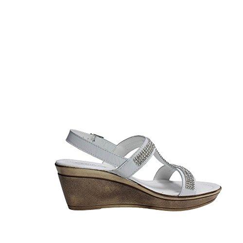 Cinzia Soft IAF 2481-5 002 Sandalo Donna Bianco