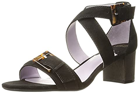 Johnston & Murphy Women's Katarina Dress Sandal, Black, 9 M US