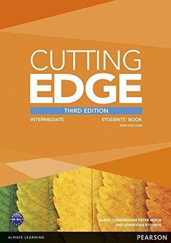 Cutting Edge Intermediate Students' Book and DVD Pack by Sarah Cunningham (17-Jan-2013) Paperback