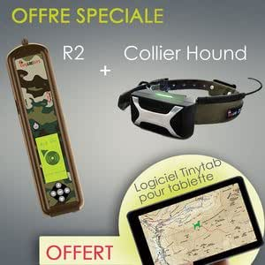 OFFRE SPECIALE Tinyloc R2 + Hound Finder + Carte