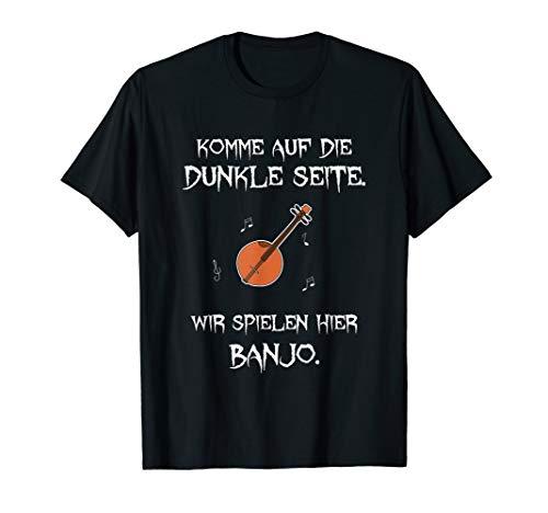 Banjo Shirt Lustig Instrument Zupfinstrument Musik Gitarre T-Shirt