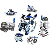 Babytintin Educational 7 In 1 Solar Power Energy Robot Toy Kit Science Fleet School Projects For Kids For Learning Purpose (7 In 1)