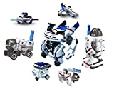 #6: Babytintin Educational 7 in 1 Solar Power Energy Robot Toy Kit Science Fleet School Projects for Kids for Learning Purpose (7 in 1)