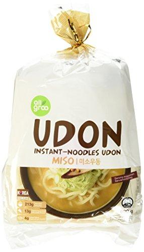 ALLGROO U-Dong Nudeln, Miso, 2er Pack (2 x 690 g)
