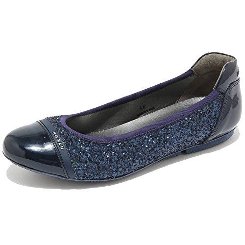 0813L ballerine donna blu HOGAN wrap 144 scarpe shoes women [36]
