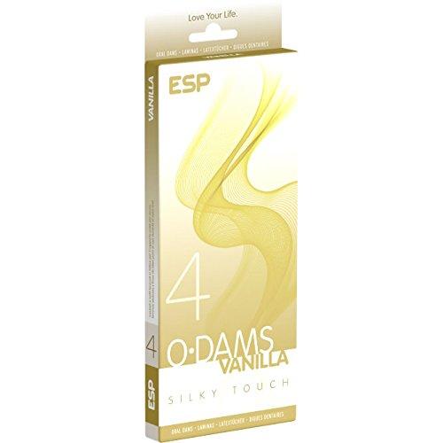 ESP Oral Dams «Vanilla» - 4 Latex-Schutztücher
